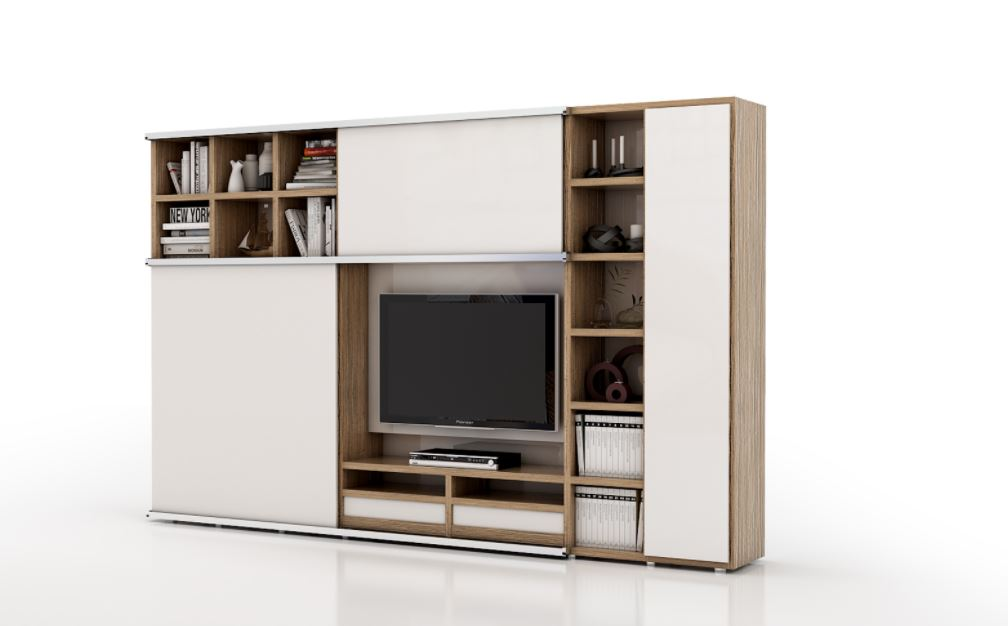 Movable TV unit