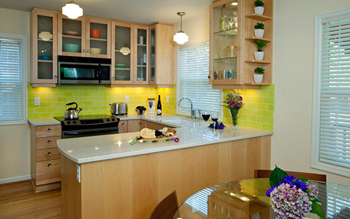 u Shaped Kitchen